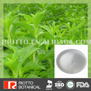 Factory supply 40%-95% stevia leaf extract (free sample, no addition)