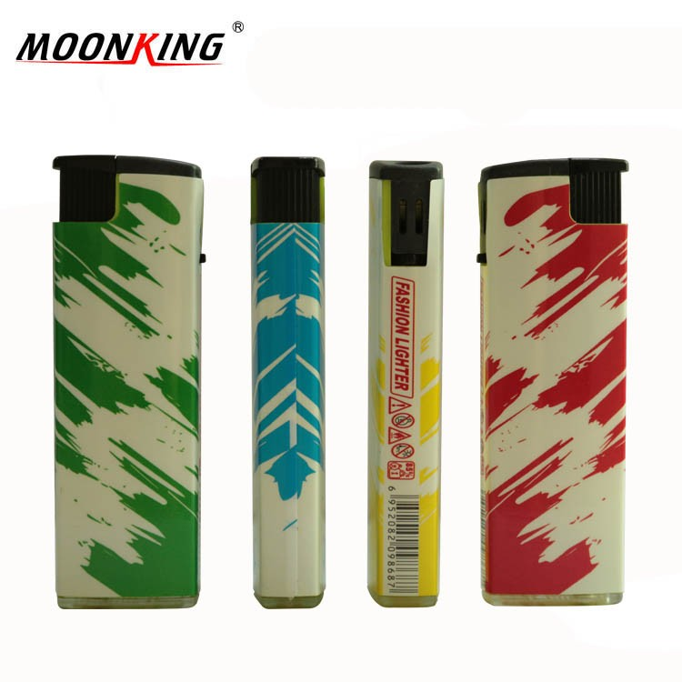 Fashion colorful made in china novelty wrapping paper custom windproof lighter