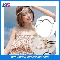 New product fashion shell chain plain hair band wholesale TS-183