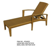 Outdoor Wikcer / Rattan Chaise Lounger