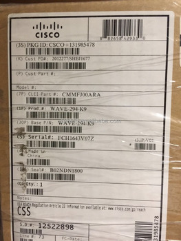 WAVE-294-K9 NEW SEALED ORIGINAL CISCO ROUTERS