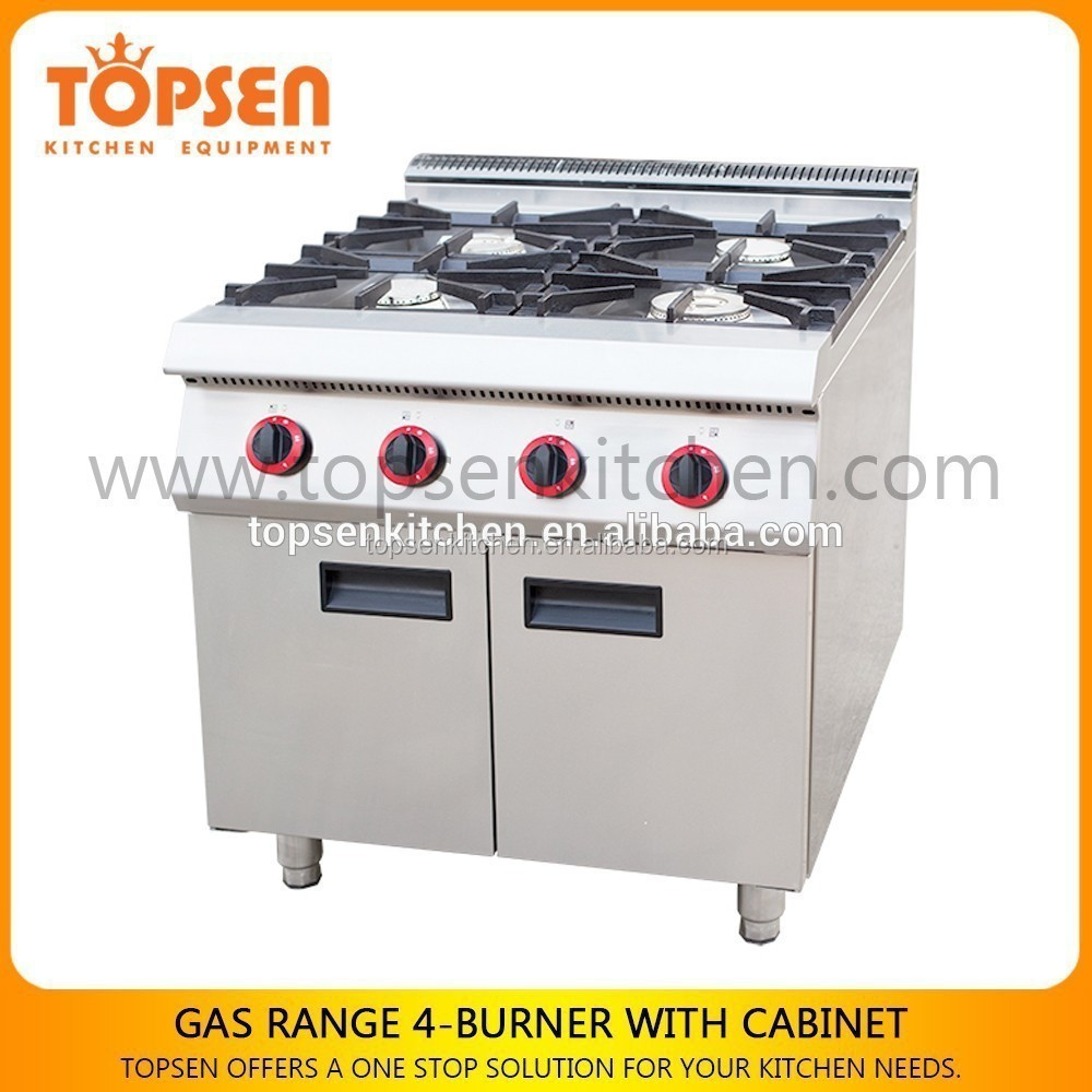 3 Burner Commercial Cooking Range/Electric Model Newest Cooking Range