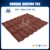 Nuoran Coloured Glaze Material and Plain Roof Tiles Type asphalt roofing shingles