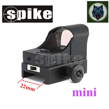 Spike HD107mini Red Dot Green Dot Reflex Sight/Red Dot Scope with Cut Sunshade used for Hunting Rifle Scope Air Rifles