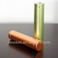 Pinoson new model mini power bank cylinder power bank portable power bank