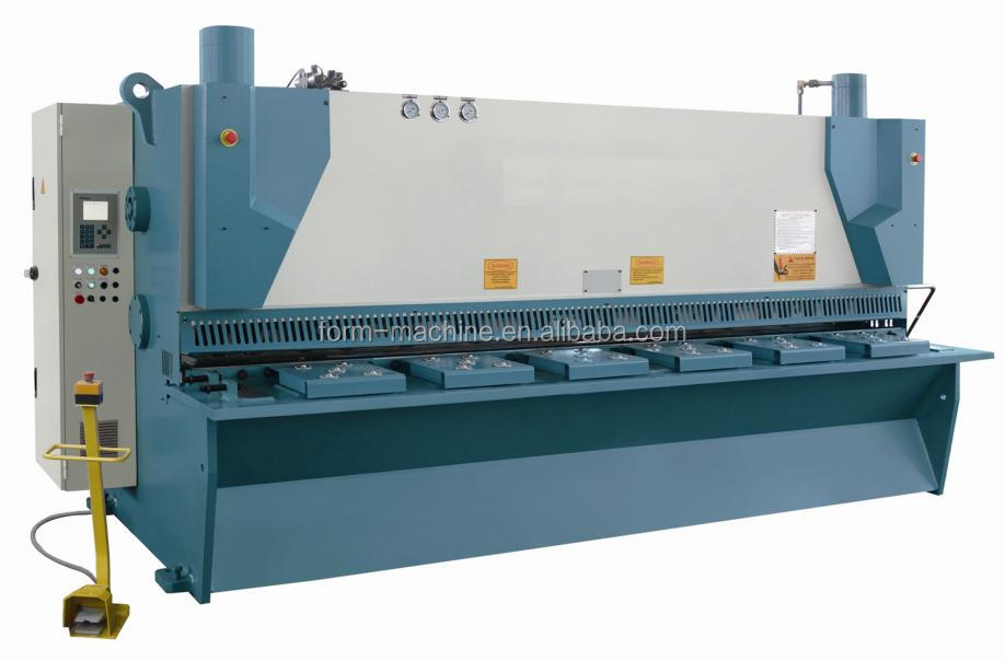 <strong>Manufacturer</strong> of plate Shears Metal fabrication device guillotine machine