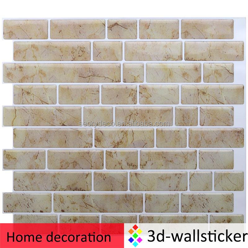 Hot sale peel stick stone mosaic for room wall decal
