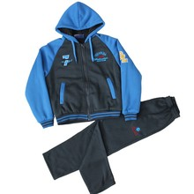 Gym Sport Kids Tracksuits With Pocket And Hood