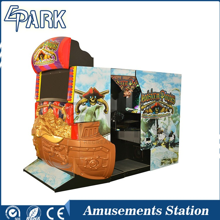 Cheap arcade games electronic indoor shooting game machine