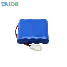 3.7v 18650 Lithium Battery Cells 8000mah Li-ion Battery Pack with Wire and Connectors