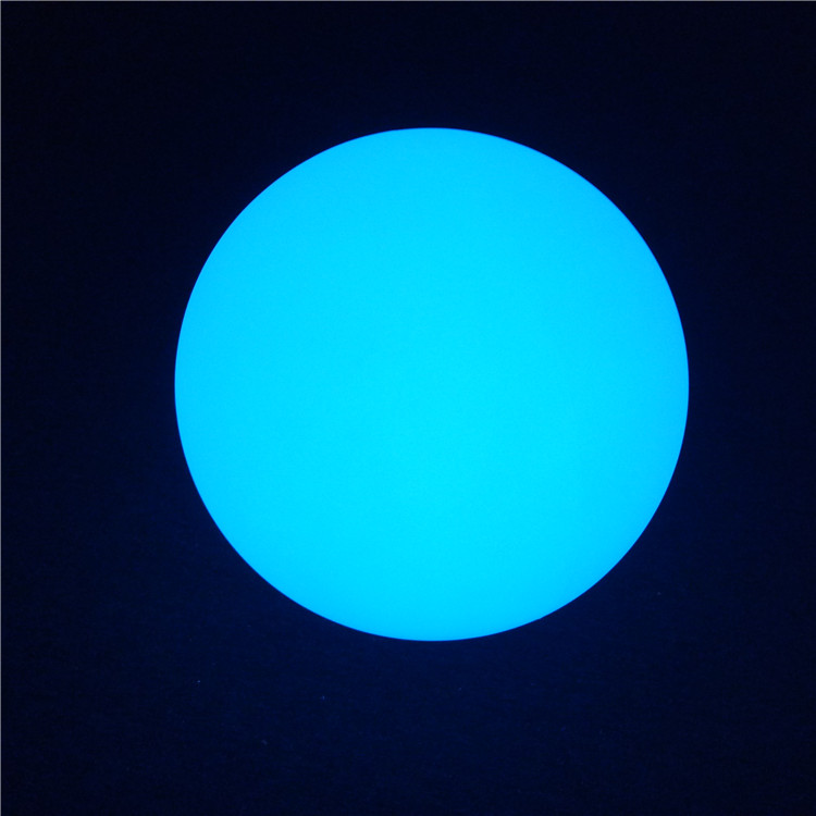 New Floating Pool Balls Outdoor Decorations RGB Color Changing PE LED Glow Ball