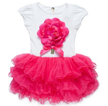 One-piece Girl Dance Dress Toddler Angel Style Tutu Dress Kids Clothes Online Shopping L388-1