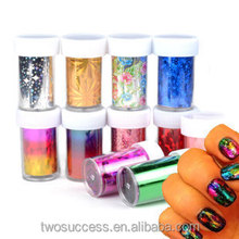 New Style 47Colors Starry Sky Nail Sticker Paper For Beauty Nail Art