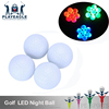 LED Light Golf Ball Two pieces Layer Flashing Glow Balls for Night Play Golf Balls