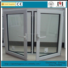 China Alibaba Gold factory/Alibaba trade assurance double glazing glass window price with high quality GM-C768