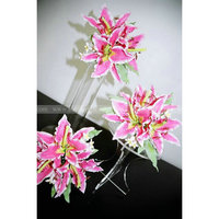 Acrylic Wedding flower Display Holder Lucite wedding cake display stands