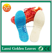 2017 Shock absorption and arch support gel silicone sports insole for sports shoe