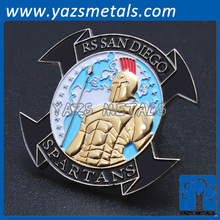 Manufacturer custom marine corps coin metal craft
