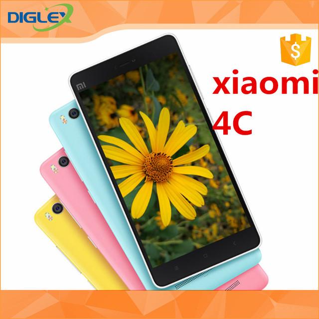 2017 On Sale xiaomi 4c ROM 16GB/32GB Snapdragon808 64-bit Hexa Core 1.8GHz cellphone