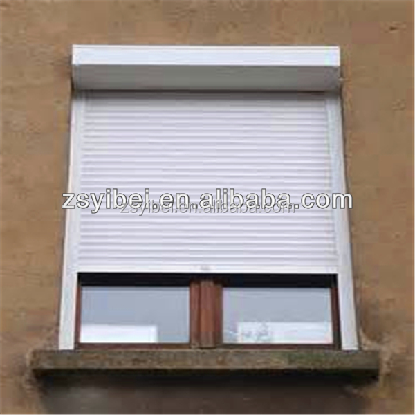 Security aluminium outdoor roller shutter louvre blade
