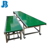 OEM custom multi function wide belt conveyor/flat belt conveying