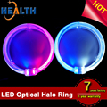 100mm super bright White light guide LED Angel Eyes Halo Ring