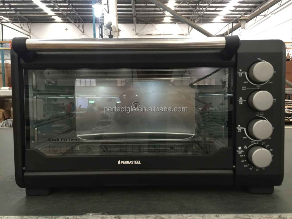 Black Electric oven 34L