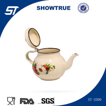 Wholesale cheap price small enamel tea pot made in yiwu