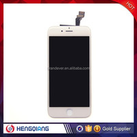Wholesale white LCD digitizer for Iphone 6, best seller LCD display for iphone 6