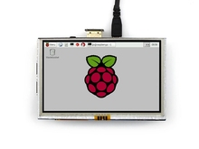 "5 inch 800x480 Touch LCD Screen 5"" Display For Raspberry Pi Pi2 Pi3 Model B+ A+"