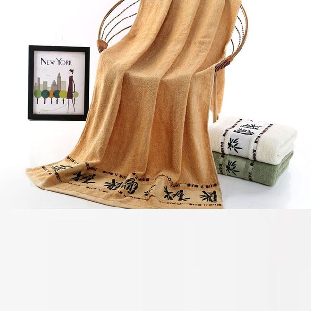 Cheap price 100% bamboo best quality fiber Towel Set