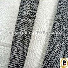 Double dot product woven interlining/buckram