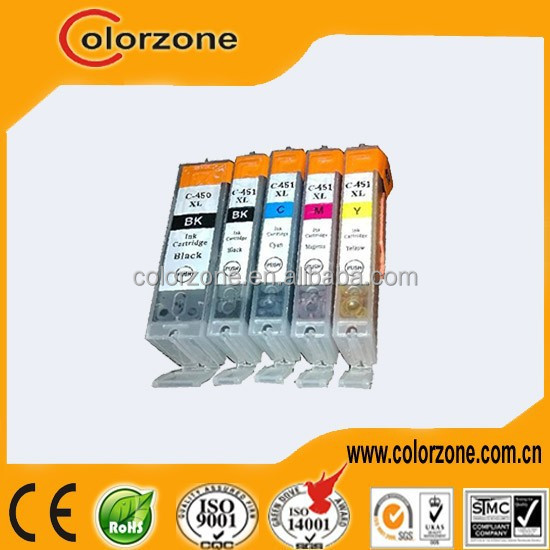 Brand new refillable 450/451 ink cartridge for Canon