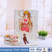 china manufacturer 34*75cm discolored microfiber kitchen tea towel printing