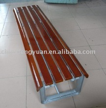 Garden bench, park installation, Outdoor seating