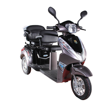 Hot selling cheap most popular disabled tricycle 2 seats tandem mobility scooter