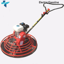Gasoline Walk Behind Floor Polishing Trowel Petrol Concrete Finishing Equipment