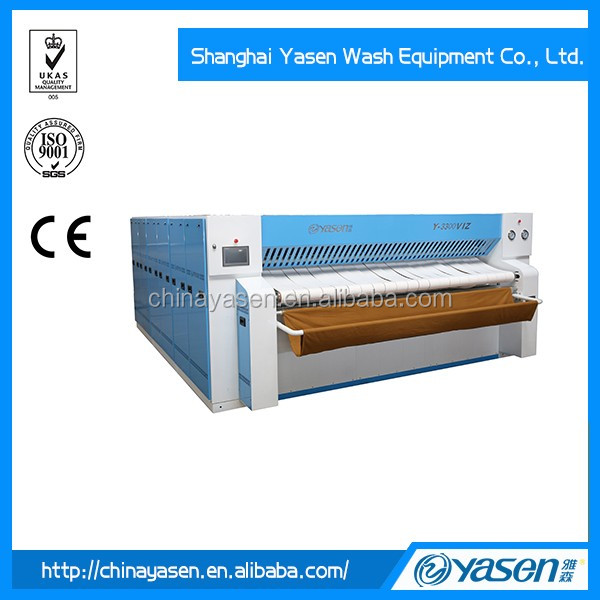 Frequency-conversion motor industrial ironer
