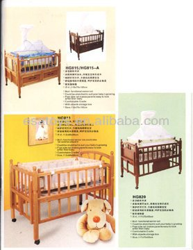 2014 New children beds, popular baby cot and hot sale wooden bed