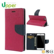 Flip cover for lg optimus l7 ii dual p715,leather cover with card slot wallet case for lg g2