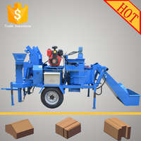 M7MI Twin cement brick making machine/ brick making machine price list/ coal ash brick making machine