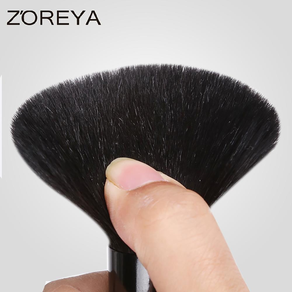 Natural beauty products personalized makeup brush stand makeup powder brush