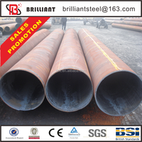 double wall steel pipe construction materials api 5l thermal conductivity steel pipe 6mm coated tube