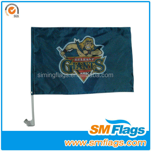 car magnetic base flag for advertising