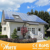 Clean energy 5KW grid tied solar system with low operating cost
