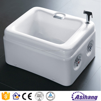 AS37000 very small different size portable baby folding bathtub