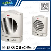 LG-FH06 four-sided square shape table fan heater
