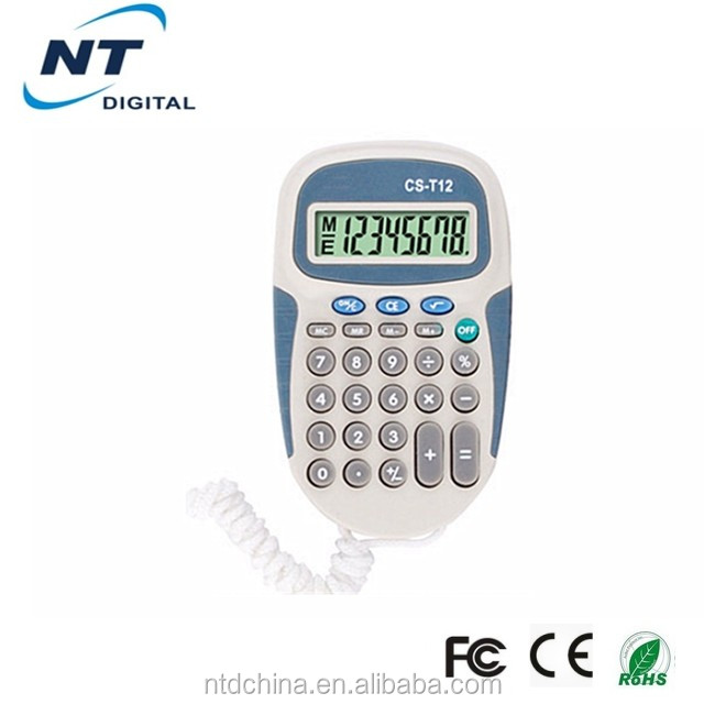 With Clip Promotional Christmas Gift Calculator
