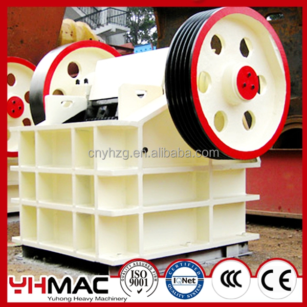 Yuhong PE/PEX Series Gold Mining Equipment ,Stone Jaw Crusher Machine