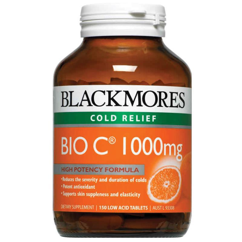 Blackmores Bio C 1000mg 150 Tablets (Australian made) Vitamin C Ascorbic acid